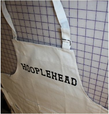 custom Hooplehead personalized apron gif