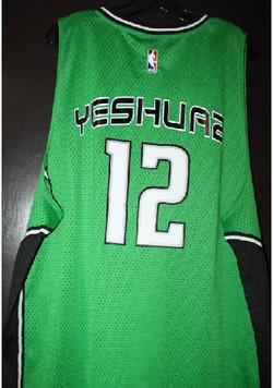 Yeshuah 12 custom personalized jerzee pr