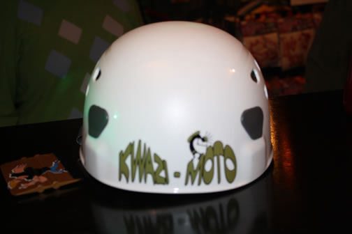 bike helmet custom designed sticker deca