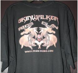Skinwalker Ric3 Clan X360 club tshirt