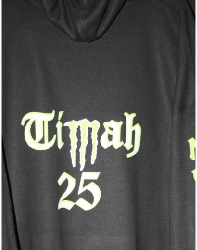 Timah 25 custom hoodie print
