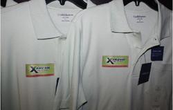 Xtreme Fuel Treatment polo apparel print