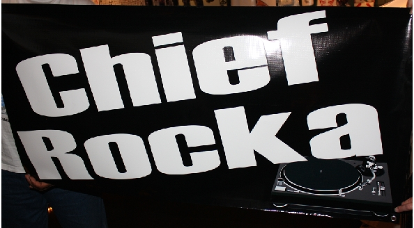 Chief Rocka banner