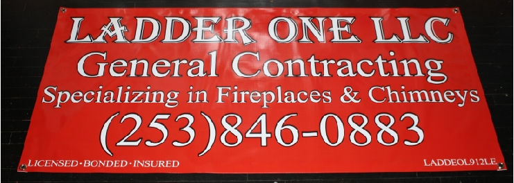 Ladder One Fireplace Chimney banner