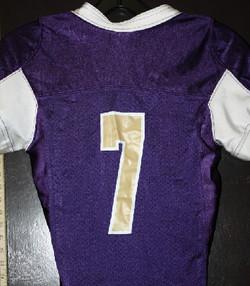 Tacoma Youth Titans Purple Football jerz