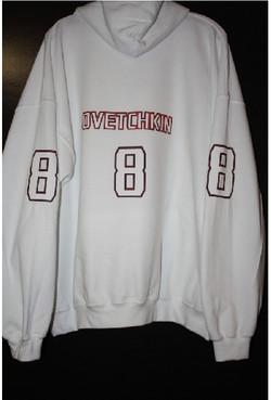 Ovetchkin 8 custom hoodie prints