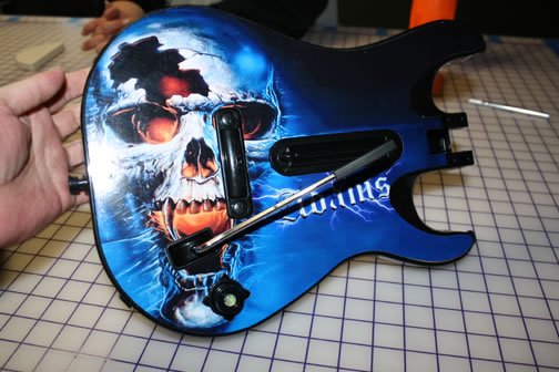 guitar skin sticker decal xbox 360 guita