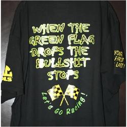 When Green Flag Drops The Bullshit Stops