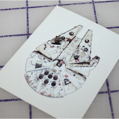 Star Wars Millenium Falcon custom sticke