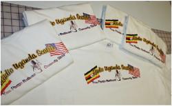 Radio Uganda Seattle custom tshirt print