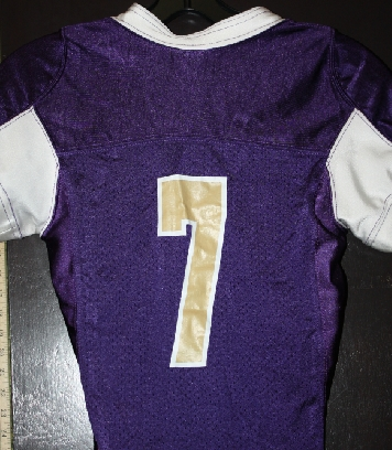 Tacoma Youth Titans Purple Football jerz