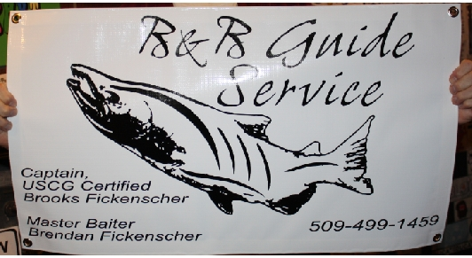 B&B Guide Services Banner print