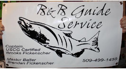 B&B Guide Services Banner print