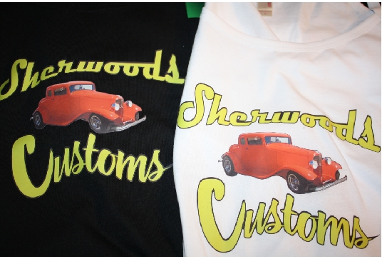 Sherwood Customs custom tshirts