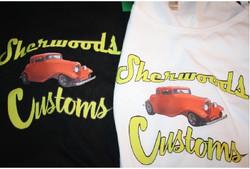 Sherwood Customs custom tshirts