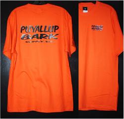 Puyallup Bark staff tshirt