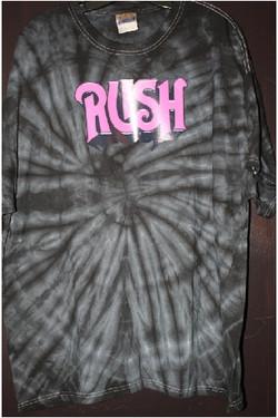 Rush custom fan tshirt