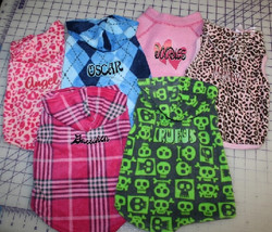 Custom Doggie Shirt prints