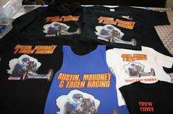 custom apparel set full color heat trans