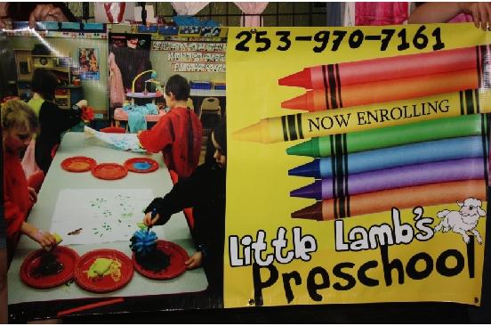 Little Lambs Preschool Puyallup banner