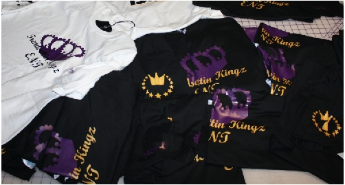 Trendsettin Kings custom tshirt prints