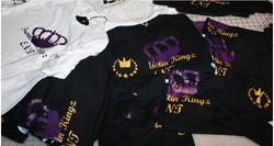 Trendsettin Kings custom tshirt prints