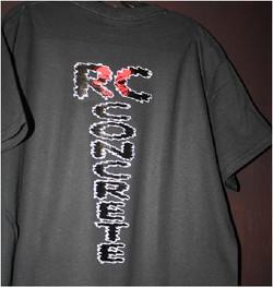 RC Concrete custom tshirt print Puyallup