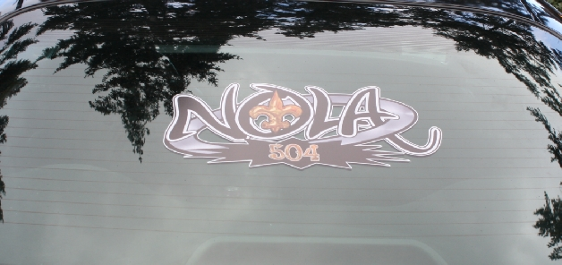 Nola custom sticker