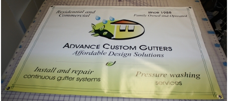Advance Custom Gutters banner