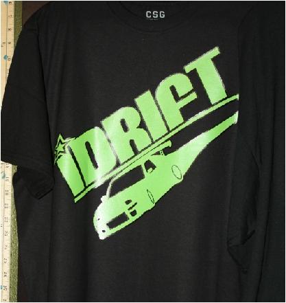 iDrift custom tshirt print