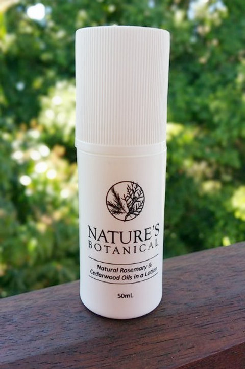 50 ml roll-on Nature's Botanical Rosemary and Cedarwood Creme
