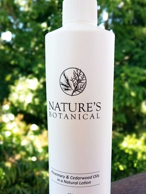 500ml spray refill nature's botanical rosemary and cedarwood creme DEET-free natural insect repellent