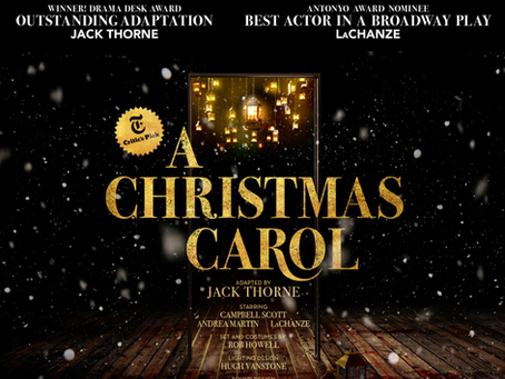 A Christmas Carol Nominated at Tony Awards