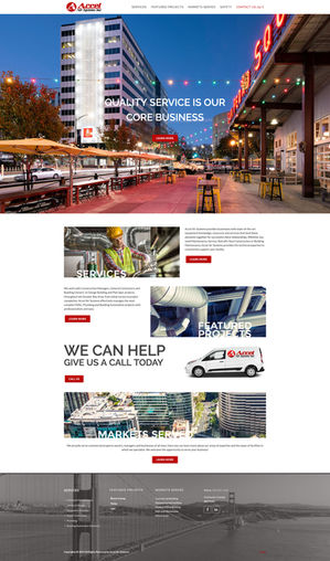 Home Page ~ Wordpress Website with custom coding and design