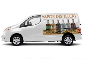 Placement of Brand to Van