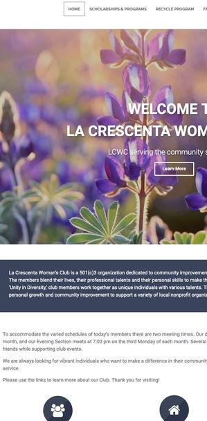 La Crescenta Woman's Club - Screen Capture
