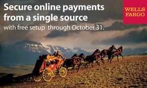 Wells Fargo ~ Online & Print