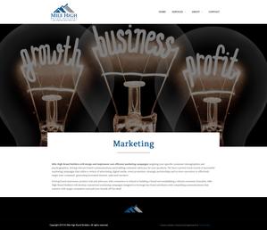 Custom Wordpress Website & Logo