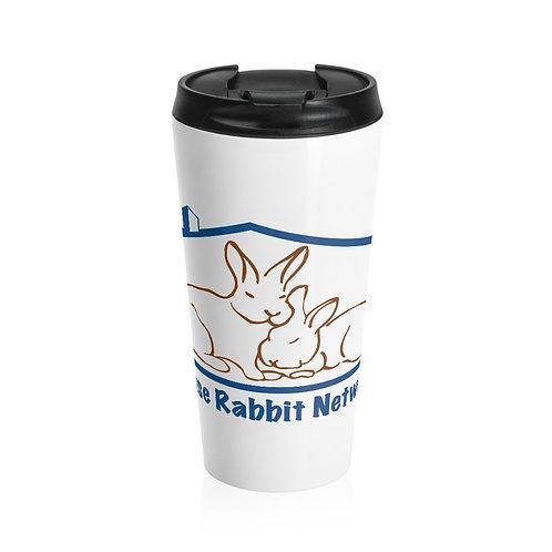 House Rabbit Network Stainless Steel Travel Mug