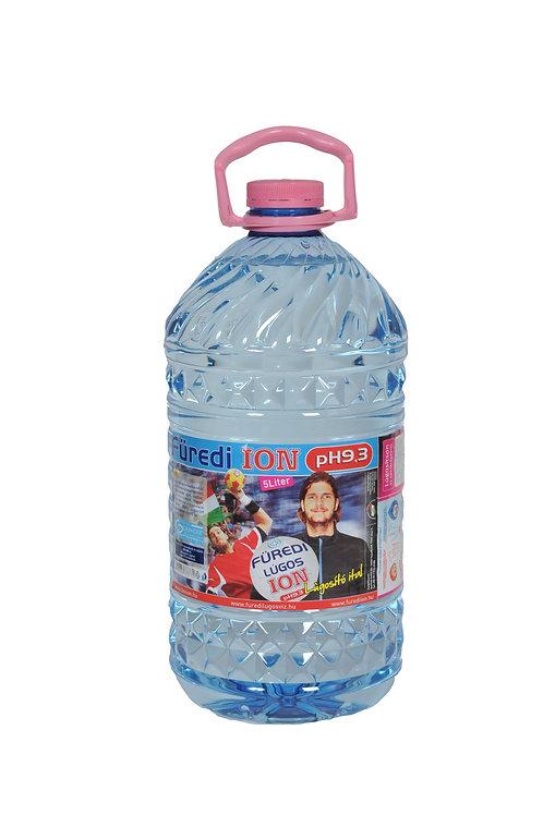 Füredi ION pH9,3 lúgosító ital 5 literes kiszerelés