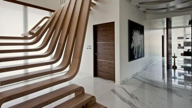 Escalier Bois Design. Finest Escalier Bois Design Flo With ...