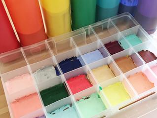 'Mix Your Own Paint Colours' Process Art Invitation