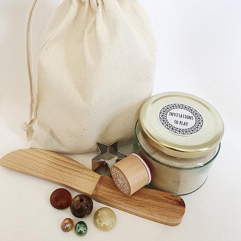 Natural Starter Play Dough Collection