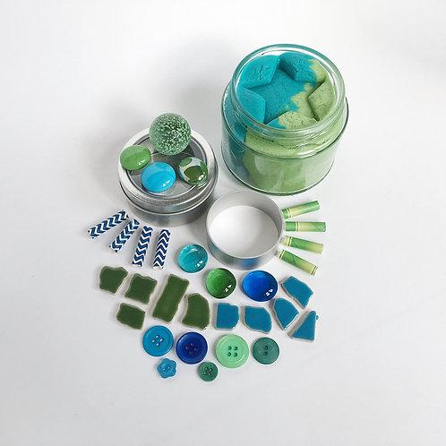 Earth Mini Play Dough Collection