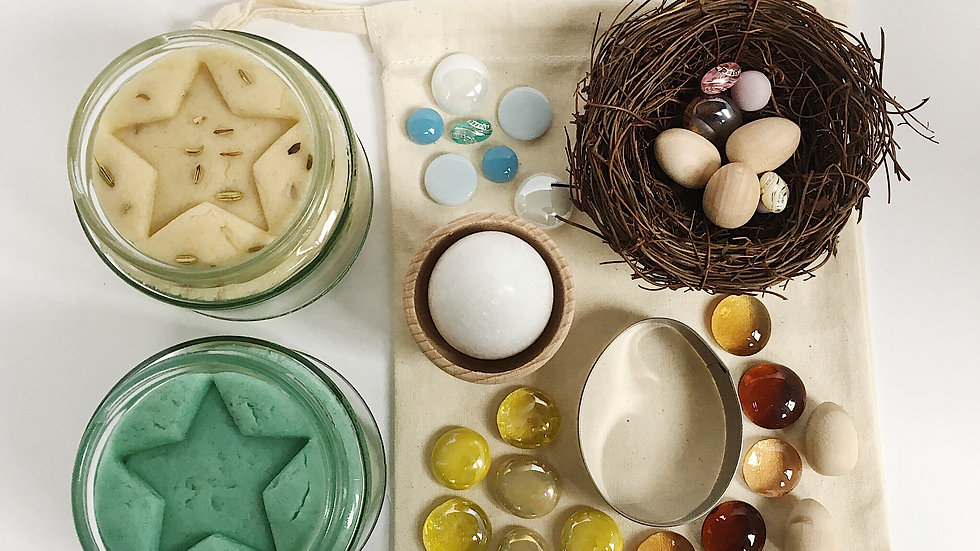 Birds Egg Themed Loose Parts Collection