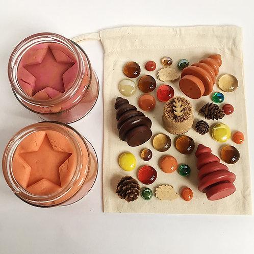 Autumn Themed Play Dough Collection