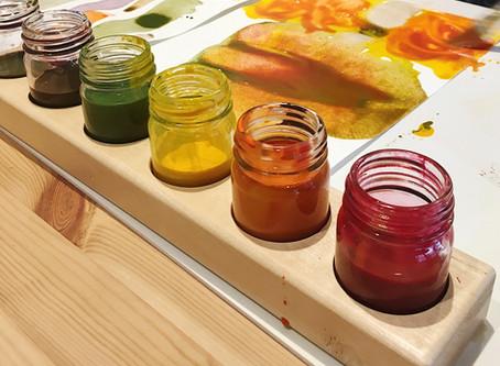 Creating a Seasonal Paint Palette