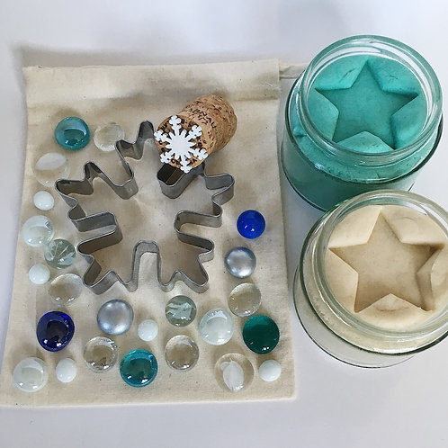 Winter Themed Play Dough Collection