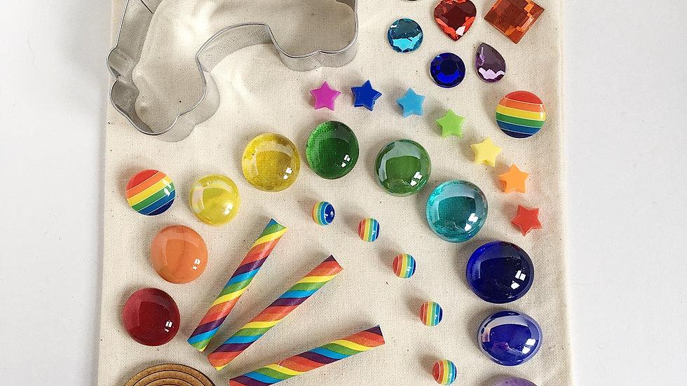 Rainbow Play Dough Collection