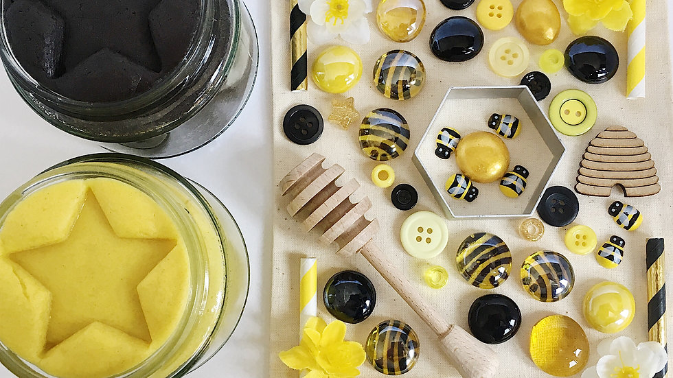 Bee Themed Play Dough Collection